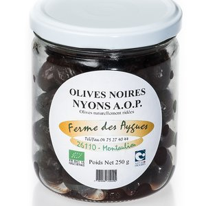 Olives Noires NYONS A.O.P BIO